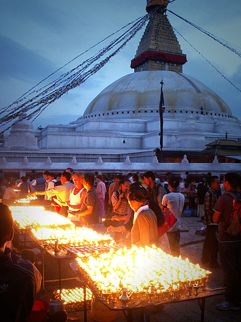 Lights for Buddha